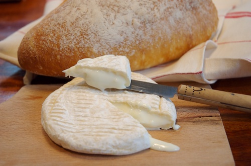 A memorable goats' milk 'camembert' style cheese